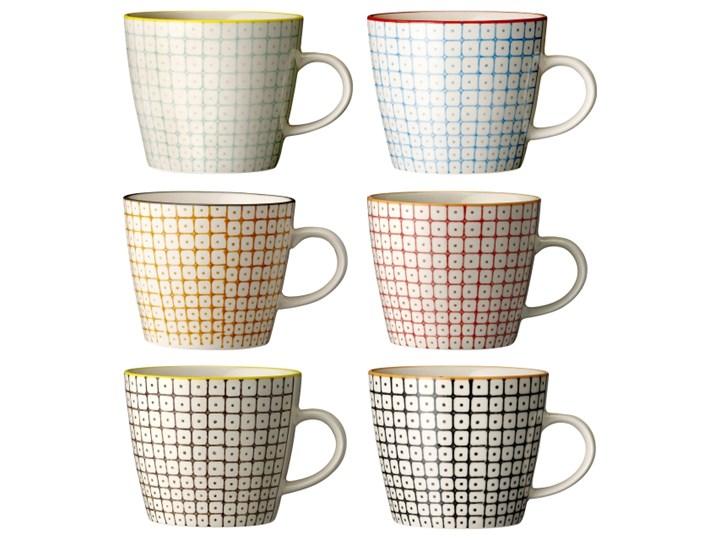 Bloomingville, Kubek Carla - only 2 left! Kubek do kawy i herbaty ceramika Motyw We wzory Porcelana Styl industrialny
