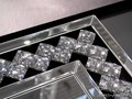 LUSTRO 16JZ37 80x113cm ścienne Prostokątne szkło Styl klasyczny