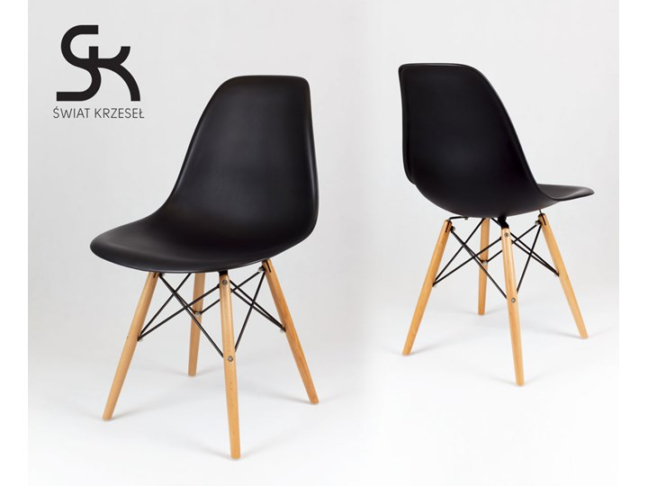 SK DESIGN KR012 BLACK CHAIR BEECH