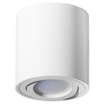 Round H84 lampa sufitowa 1-punktowa kierunkowa biała