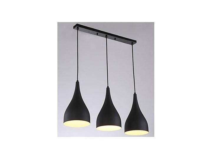 lampy sufitowe potrojne czarne