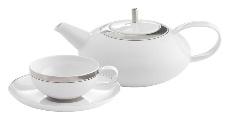 Serwis Do Herbaty Domo Platinum Komplety Naczyń Zdjęcia