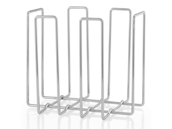 Gazetnik WIRES, stal chromowana 31x34x27 cm  - BLOMUS - Produkt dostępny na  WWW.DECOSALON.PL metal Styl nowoczesny