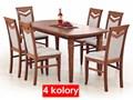 Rozkładany stół Lister - 4 kolory Rozkładanie Długość 80 cm  Długość 160 cm  Wysokość 74 cm Płyta MDF Drewno Rozkładanie Rozkładane