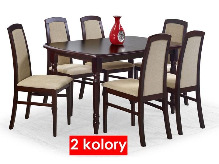 Stół rozkładany Dires - ciemny orzech Wysokość 75 cm Szerokość 80 cm Długość 150 cm  Kolor Brązowy Rozkładanie