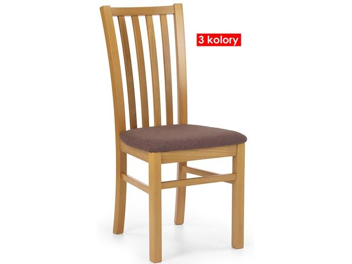 Drewniane krzesło patyczak Billy - ciemny orzech Wysokość 96 cm Kolor Beżowy Drewno Szerokość 44 cm Kolor Brązowy