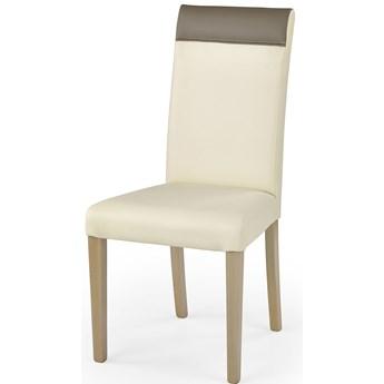 Krzesło drewniane Devon - kremowe