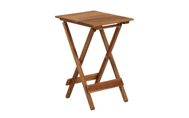 Mały Drewniany Składany Stół Butlers Lodge Stoły Ogrodowe