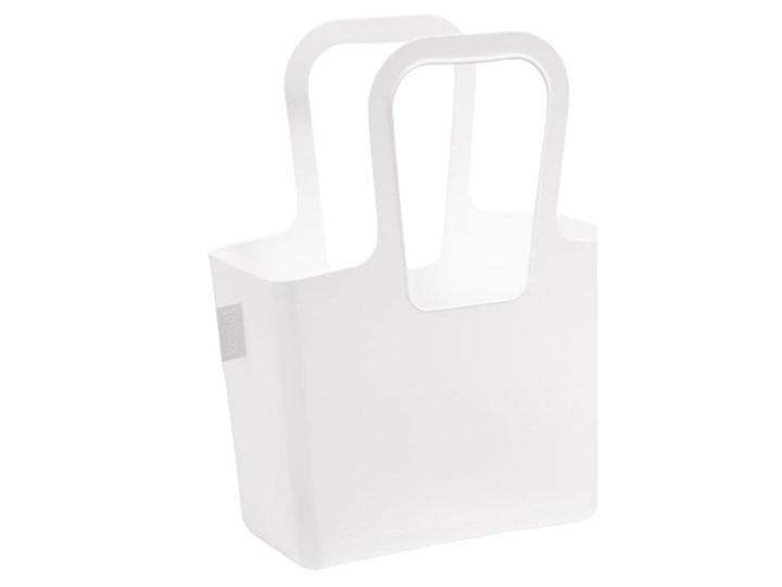 Wielofunkcyjna torba na zakupy, plażę TASCHELINO - kolor biały, KOZIOL Organizer Z tworzywa sztucznego tworzywo sztuczne