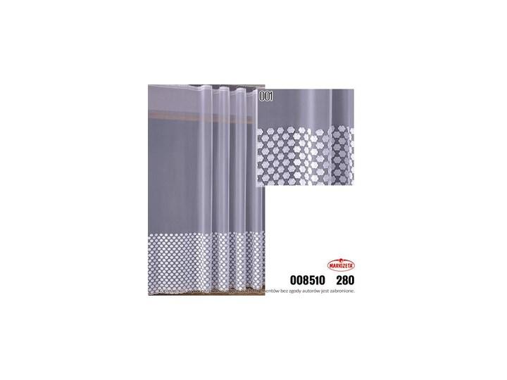 008510 Firanka Metrażowa Wysokość 280 Cm Biały