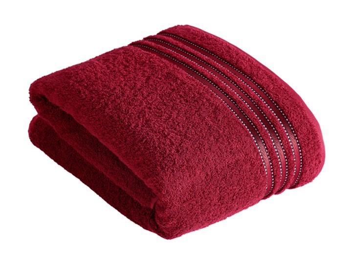 Ręcznik Vossen Cult de Luxe Rubin 30x50 cm tkanina 50x100 cm 67x140 cm 100x150 cm Bawełna Styl klasyczny