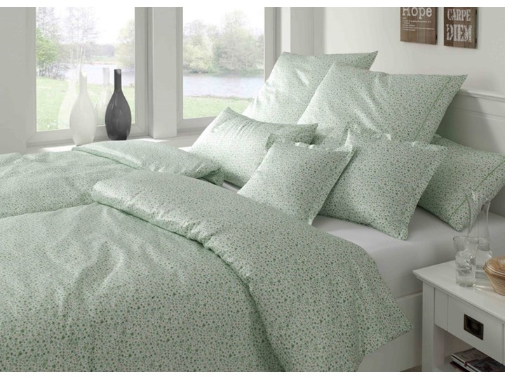 Pościel satynowa Elegante Sweets Green 100% bawełna Satyna tkanina Rozmiar(poprawny) 135x200 cm