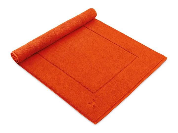 Dywanik łazienkowy Moeve SuperWuschel Red Orange tkanina 60x130 cm 60x100 cm 60x60 cm Bawełna Prostokątny