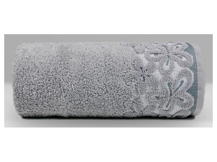 Ręcznik bawełniany Greno Bella Popielaty komplet ręczników Bawełna 70x140 cm 50x90 cm tkanina 30x50 cm Styl nowoczesny