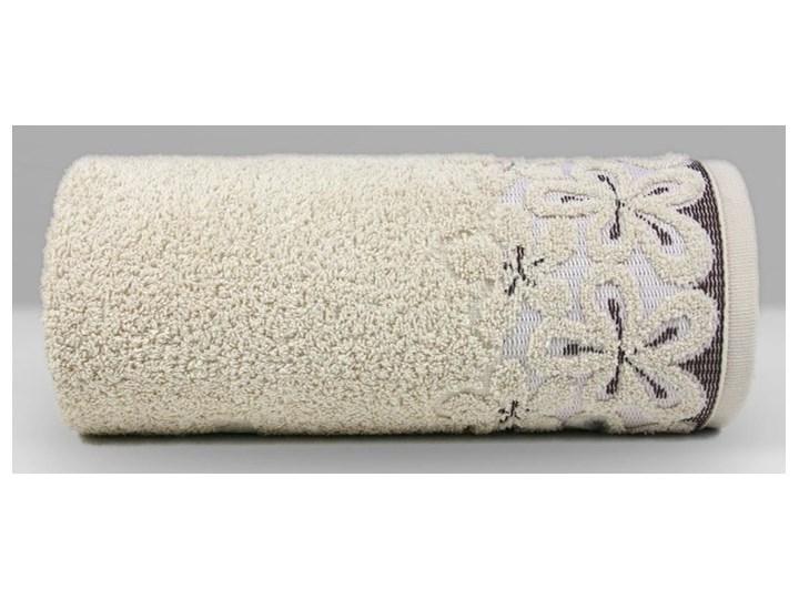 Ręcznik bawełniany Greno Bella Beżowy komplet ręczników tkanina 50x90 cm Bawełna 70x140 cm 30x50 cm Styl nowoczesny