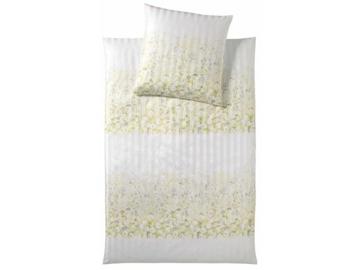 Pościel satynowa Elegante Summer Garden Gold 100% bawełna Wzór nadruk tkanina Satyna Styl klasyczny
