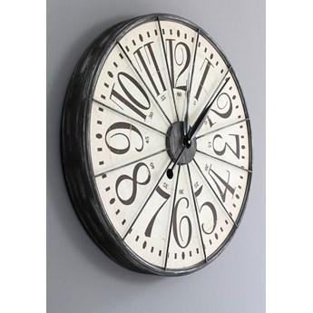 Oryginalny zegar ścienny, styl rustykalny.