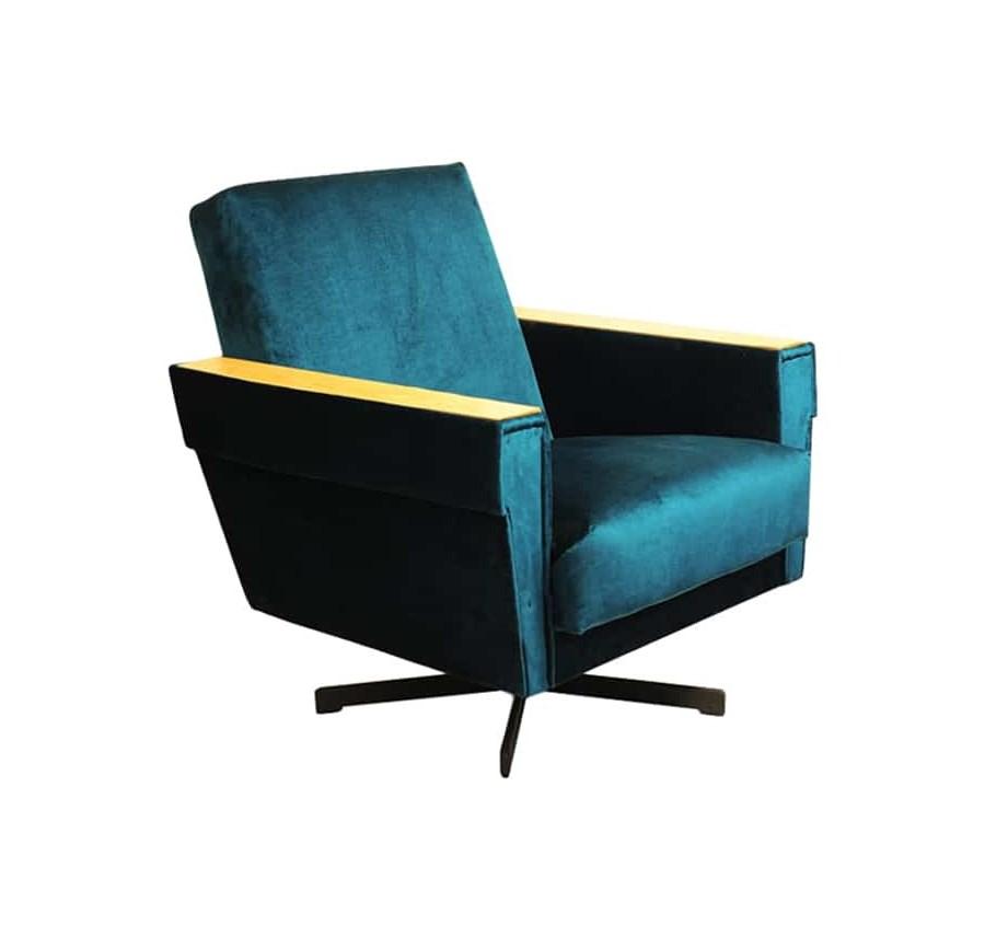 Fotel Obrotowy Lata 70