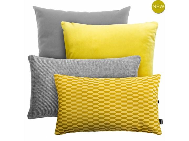 Szaro żółty Zestaw Poduszek Dekoracyjnych Break