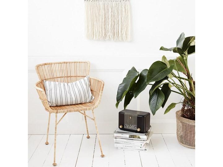 KRZESŁO DINING CUUN NATURE HOUSE DOCTOR Rattan Wysokość 80 cm Żelazo Krzesło inspirowane Metal Głębokość 60 cm Szerokość 62 cm Kategoria Krzesła kuchenne