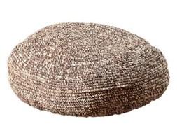 Dekoria Siedzisko-pufa beżowo-brązowa o70 cm