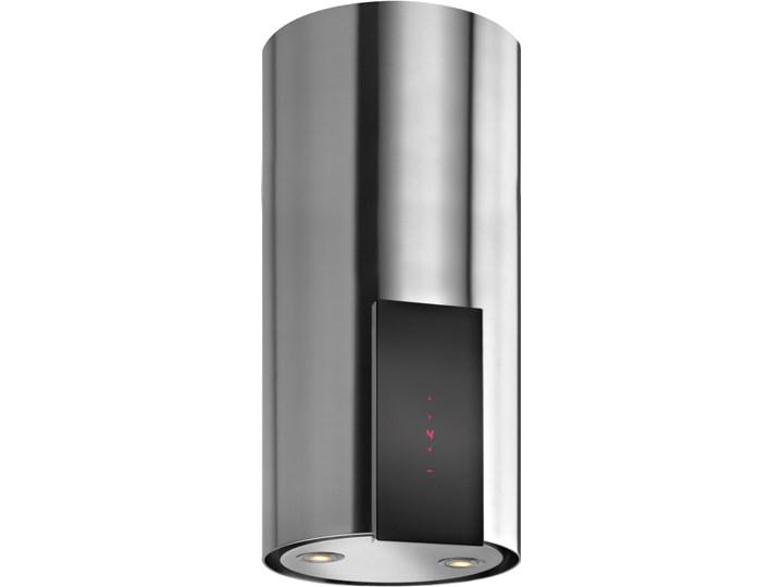 Okap VDB Tube P Glass Inox Sterowanie Elektroniczne Szerokość 39 cm Okap kominowy Poziom hałasu 63 dB