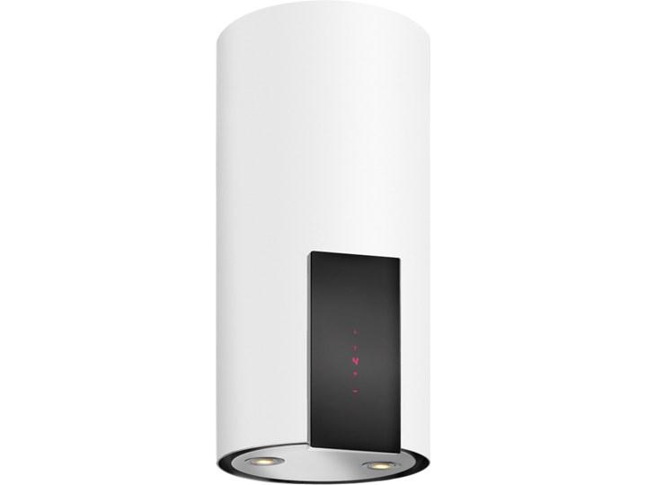 Okap VDB Tube P Glass White Sterowanie Elektroniczne Szerokość 39 cm Okap kominowy Poziom hałasu 63 dB