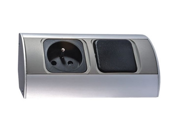 ORNO Gniazdo meblowe ORNO OR-AE-1302 z wyłącznikiem 1 x 230V  OR-AE-1302 tworzywo sztuczne