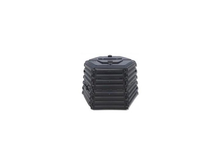 EKOBAT Ekokompostownik EKOBAT Termo XL-1400 Czarny  XL-1400 Tworzywo sztuczne Pojemność 1380 l