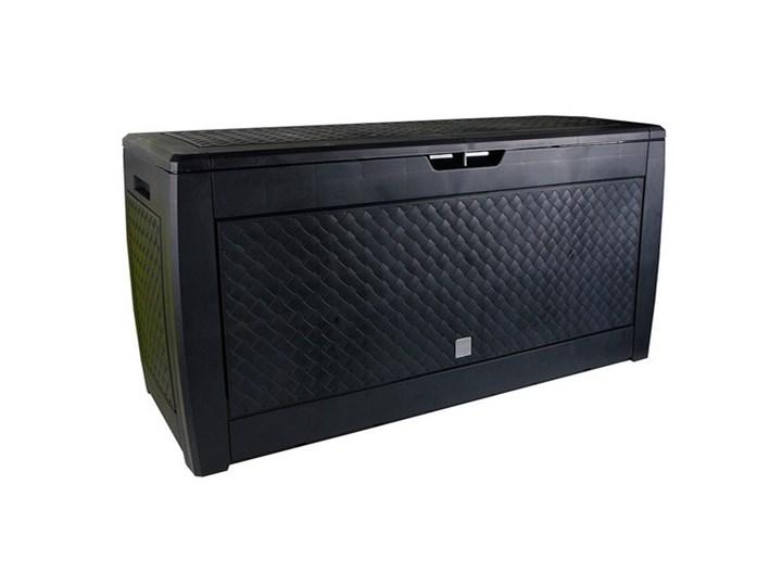 PROSPERPLAST Skrzynia ogrodowa PROSPERPLAST Boxe Matuba S433 Antracyt  BOXE MATUBA S433 Tworzywo sztuczne ogrodowe