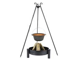 FARMCOOK Kociołek żeliwny FARMCOOK + Palenisko ogrodowe 60 cm