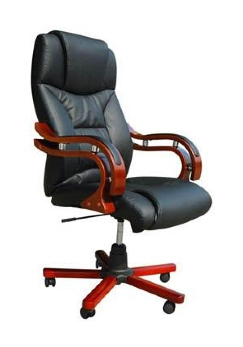 20025 Biurowe Skórzane Krzesło Obrotowe Krzesła I Fotele Zdjęcia