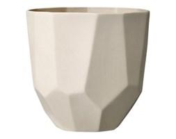 Donica ceramiczna, kremowa
