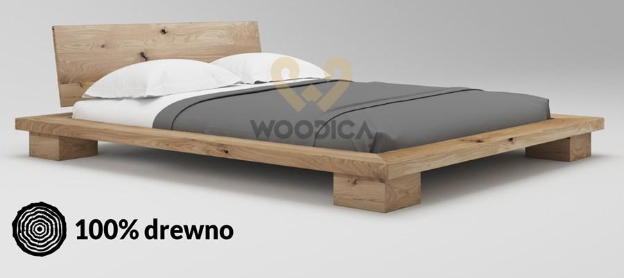 łóżko Dębowe Cerasus 03 200x200