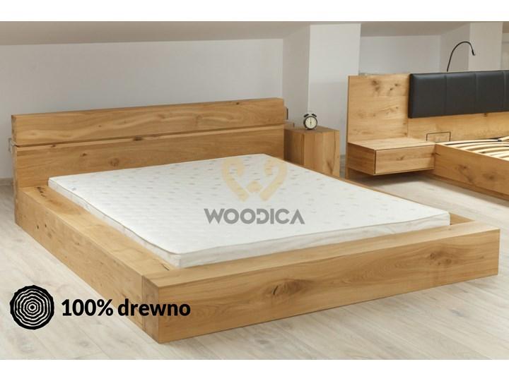 łóżko Dębowe 05 200x200