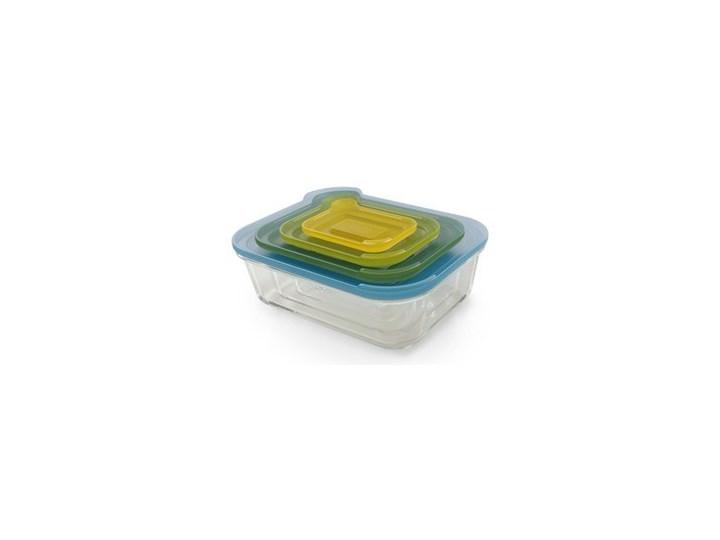 Pojemniki kuchenne Nest Glass Storage 4 szt. Tworzywo sztuczne Na lunch