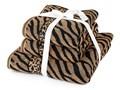 Jahu Komplet ręczników Zebra brązowy 50x100 cm Bawełna 70x140 cm Ręcznik kąpielowy