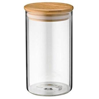 Pojemnik szklany ZELLER 1 L Przezroczysty