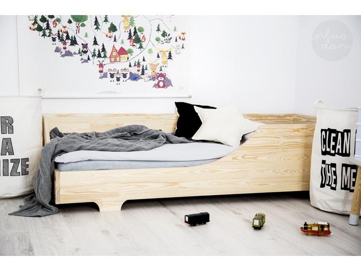 Drewniane łóżko Dziecięce Cube 3 120x190cm