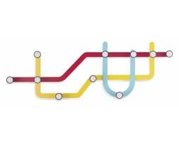 Wieszak Subway kolorowy