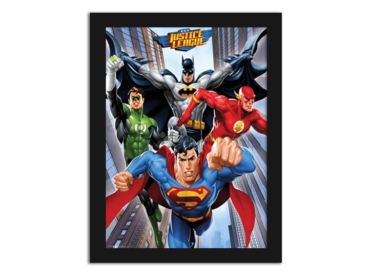 Dc Comics Justice League Plakaty W Ramie