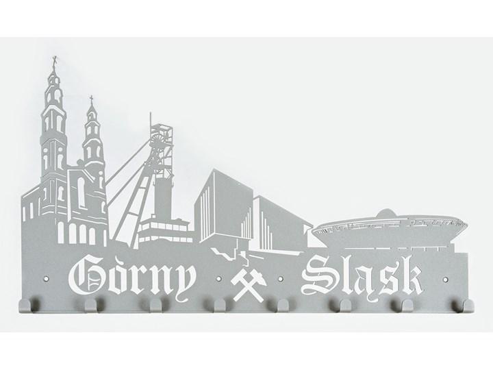 Wieszak do przedpokoju Górny Śląsk - Szary metalic