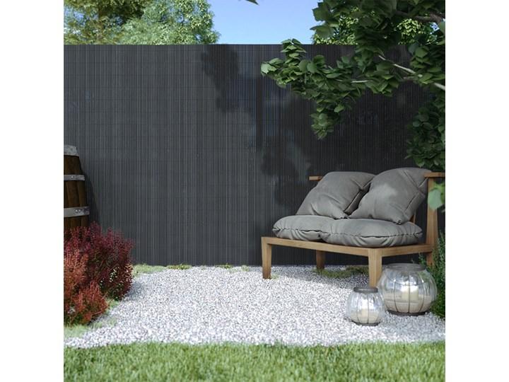 Płotek ogrodowy PVC Standard, szer. listwy 13 mm, szary, 120x300cm tworzywo sztuczne Styl nowoczesny