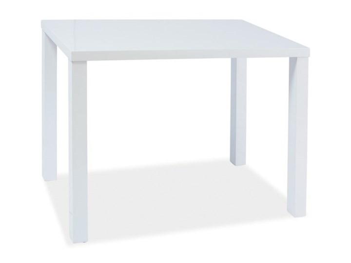 Stół Montego 80x60 tkanina Płyta MDF Wysokość 75 cm Długość 80 cm  Kształt blatu kwadratowy Szerokość 60 cm Rozkładanie