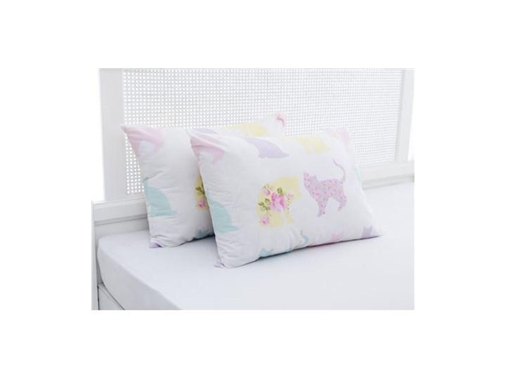 Rosy Cats Bawełna Podwójny Poszewka Na Poduszkę 50x70 Cm Różowy