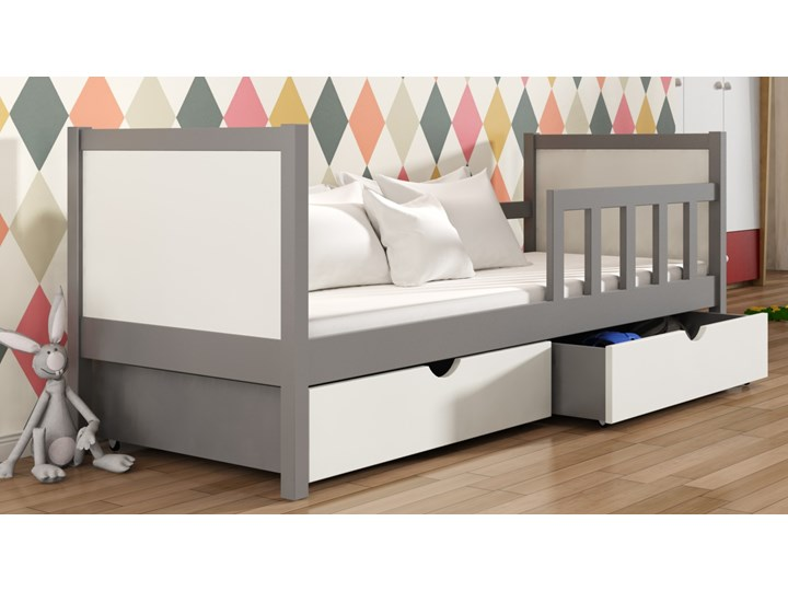 Piotruś 1 Sosnowe Pojedyncze łóżko Parterowe Dla Dzieci