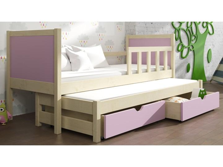 Piotruś 4 Podwójne Drewniane łóżko Parterowe Dla Dzieci Z Wysuwaną Powierzchnią Spania