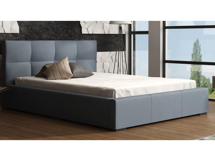 Turyn łóżko Sypialniane Z Pikowanym Zagłówkiem 140x200