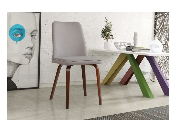 Krzesło Bodo Tapicerowane Dowolna Tkanina Do Jadalni Krzesła