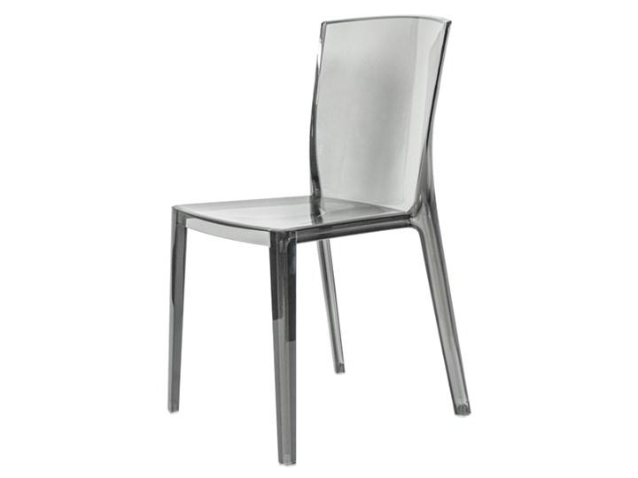 Krzesło Plastikowe King Szare Szary